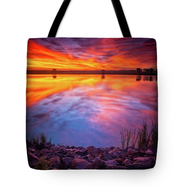 A Colorado Birthday Sunrise Tote Bag