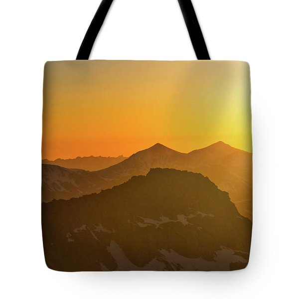 A Colorado Ending Tote Bag