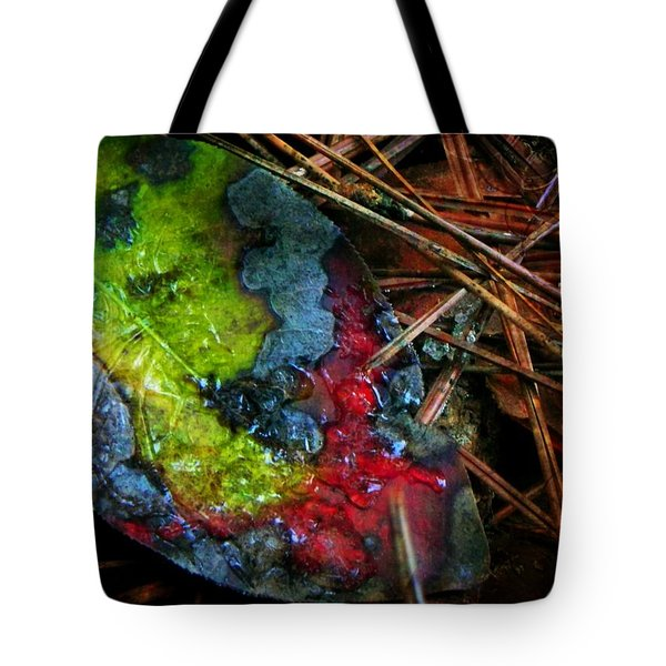 A Colorful Death Tote Bag