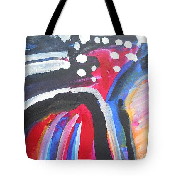 A Colorful Path Tote Bag