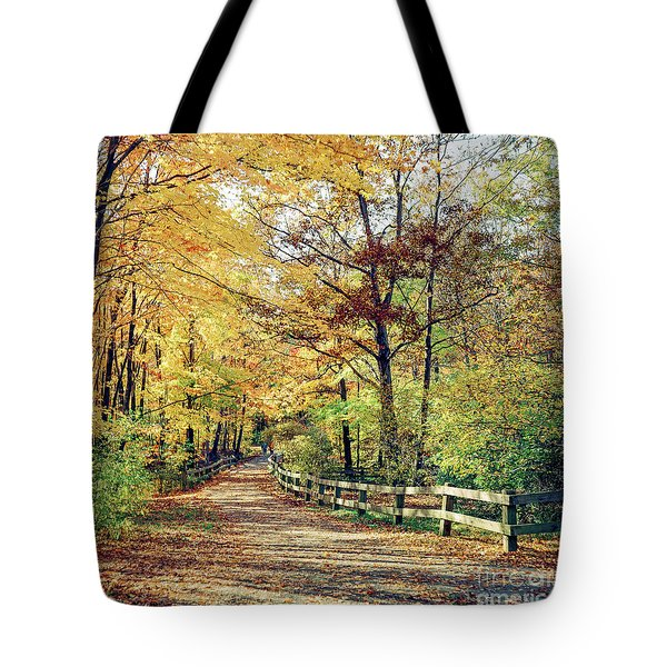 A Colorful Walk Tote Bag