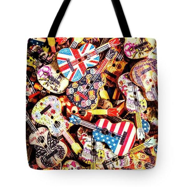 A Colour Instrumental Tote Bag