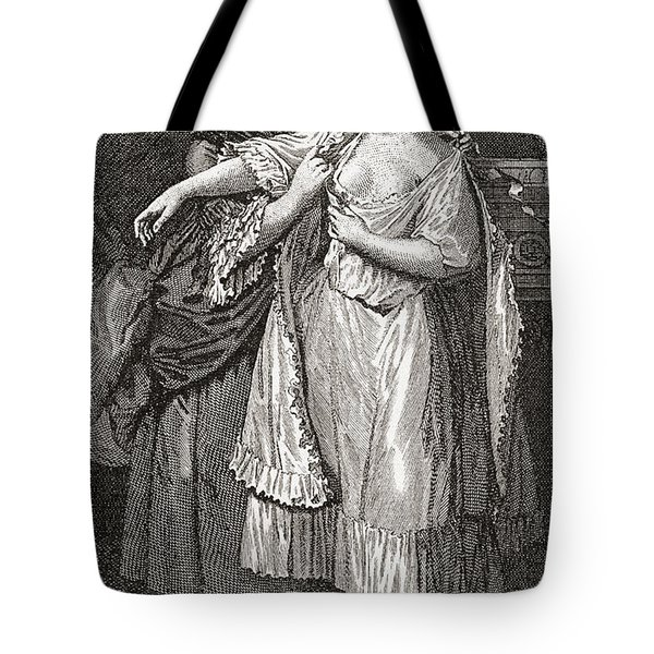 A Contemporary Print Depicting Mary Tote Bag