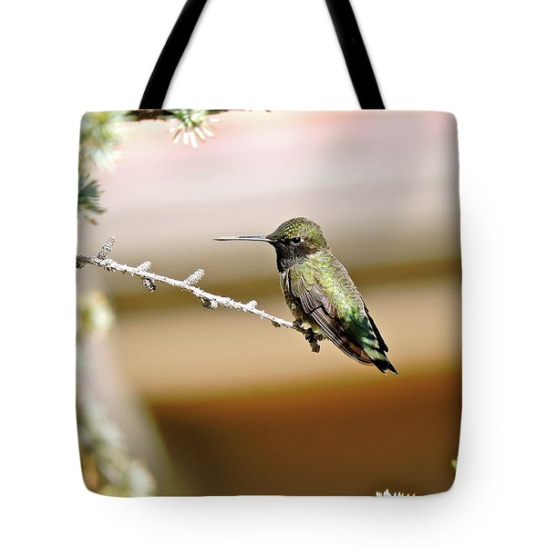 A Contented Hummer Tote Bag