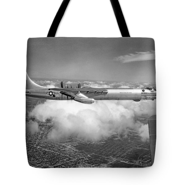 A Convair B-36f Peacemaker Tote Bag