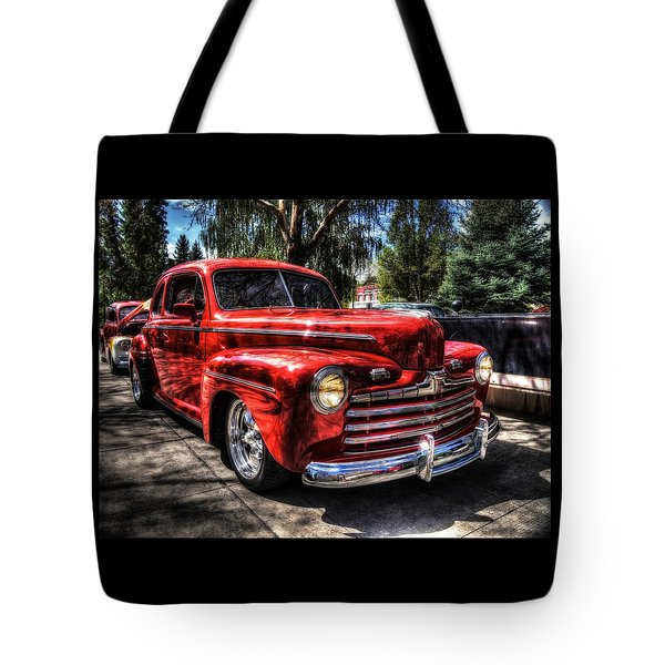 A Cool 46 Ford Coupe Tote Bag
