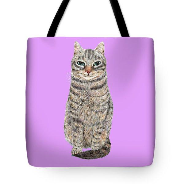 A Cool Tabby Tote Bag
