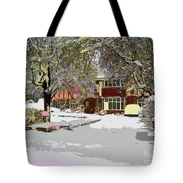 A Cosy Home Tote Bag