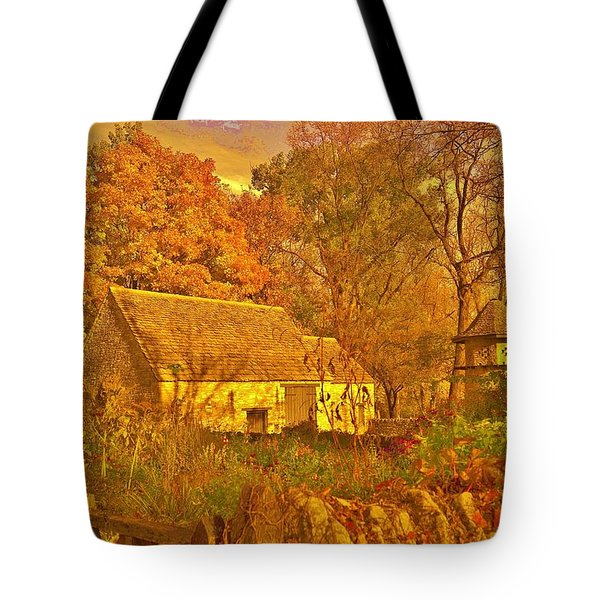 A Cotswald Fall  Tote Bag by Daniel Thompson