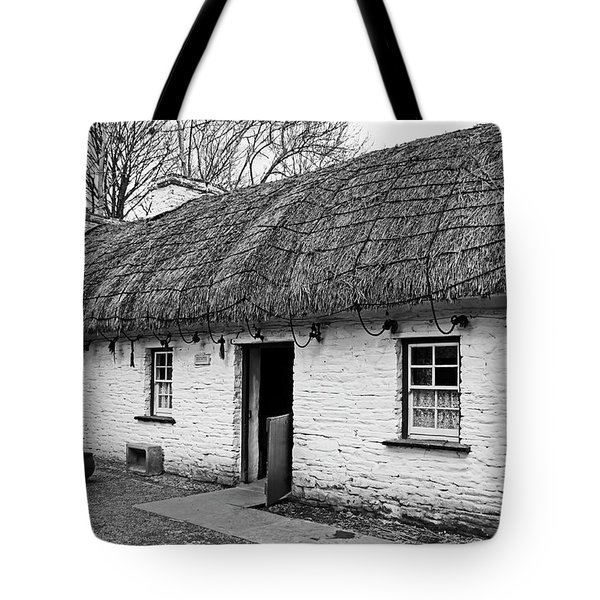 A Country Cottage Tote Bag by Martina Fagan