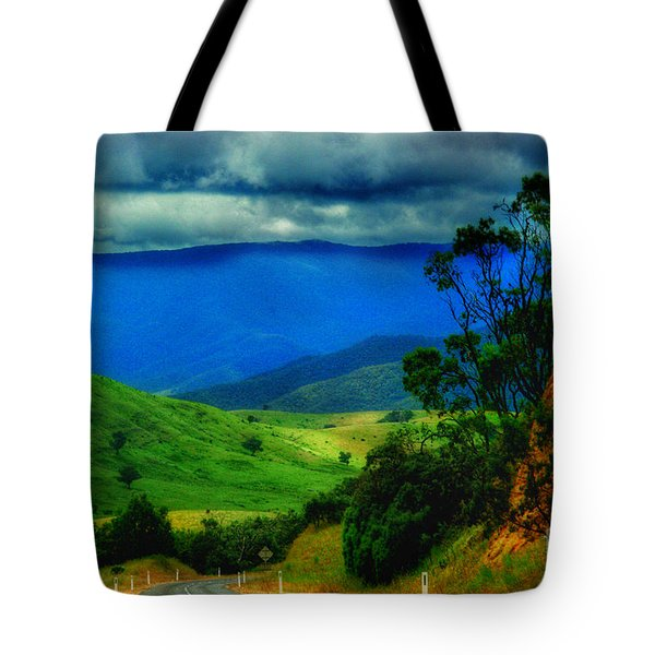 A Country Mile Tote Bag by Blair Stuart