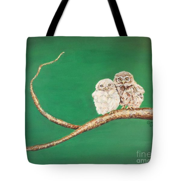 A Couple Of Owls Tote Bag