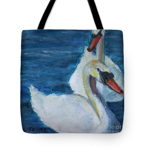 A Couple Of Swans Tote Bag