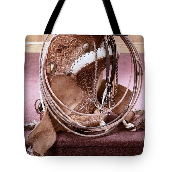 A Cowboy's Gear Tote Bag