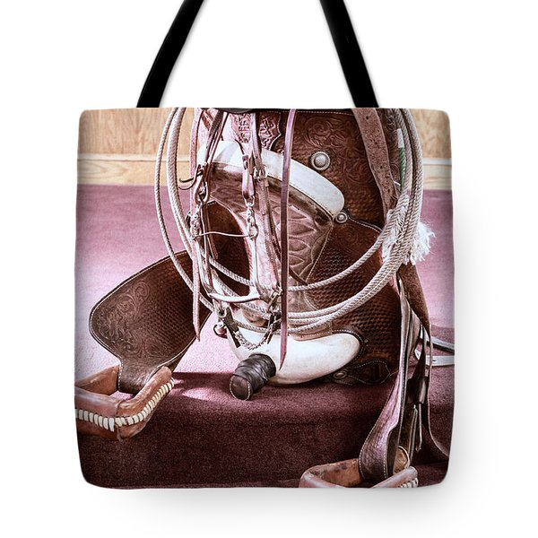 A Cowgirl's Gear Tote Bag