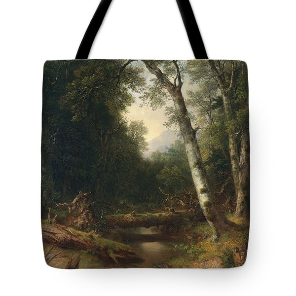 A Creek In The Woods Tote Bag