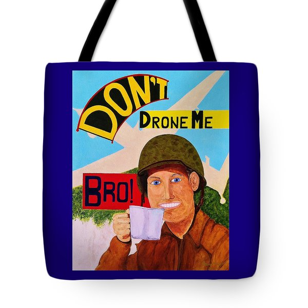 Tote Bag featuring the painting A Cup Of Joe by Rand Swift