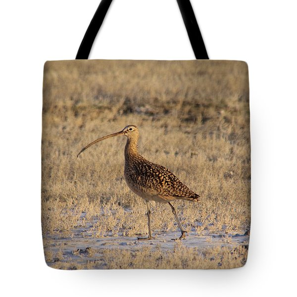 A Curlew Taking A Walk Tote Bag