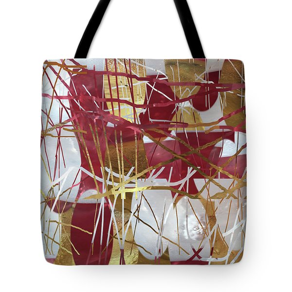 A Dance Of Rubies And Old Gold Tote Bag