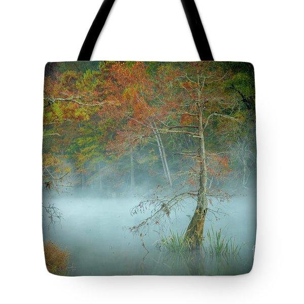 A Dancing Cypress Tote Bag