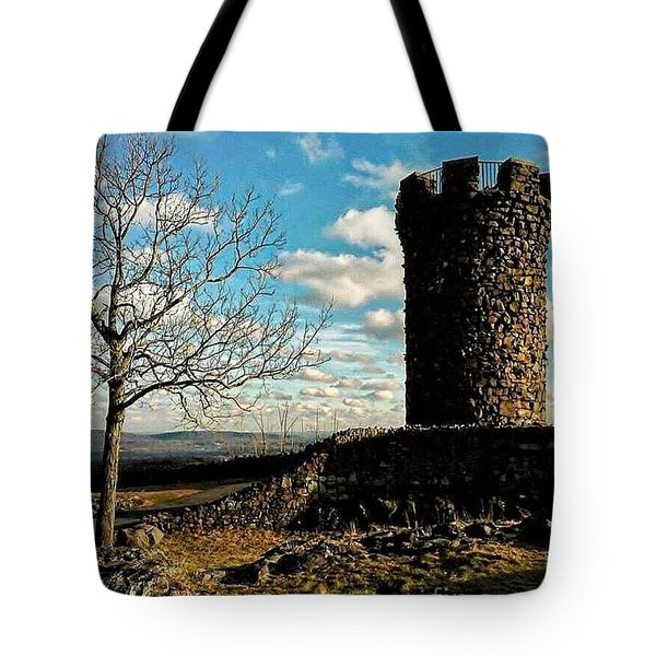 A Day At  Craigs  Castle   Tote Bag