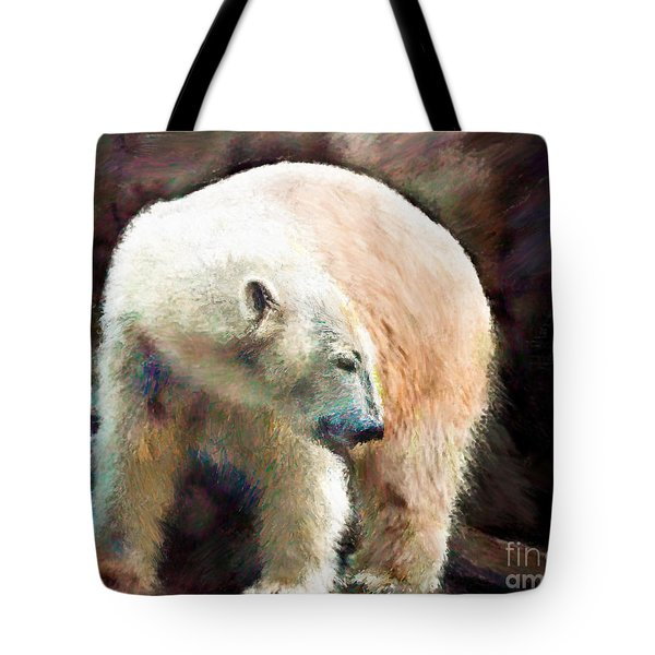 A Day At The Beach Tote Bag by Arne Hansen