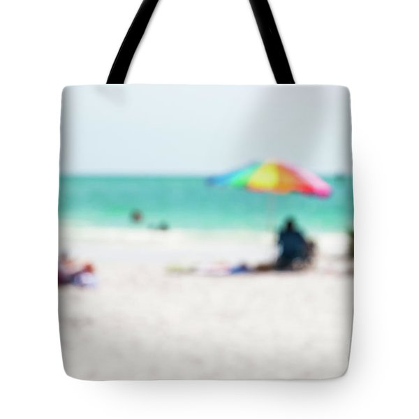 Tote Bag featuring the photograph a day at the beach IV by Hannes Cmarits