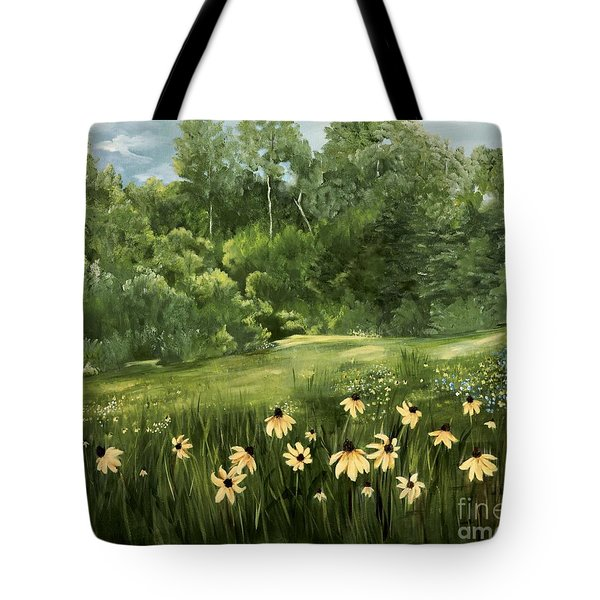 A Day At The Park Tote Bag