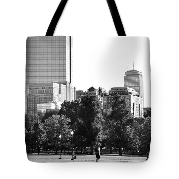 Tote Bag featuring the photograph A Day At The Park by Corinne Rhode