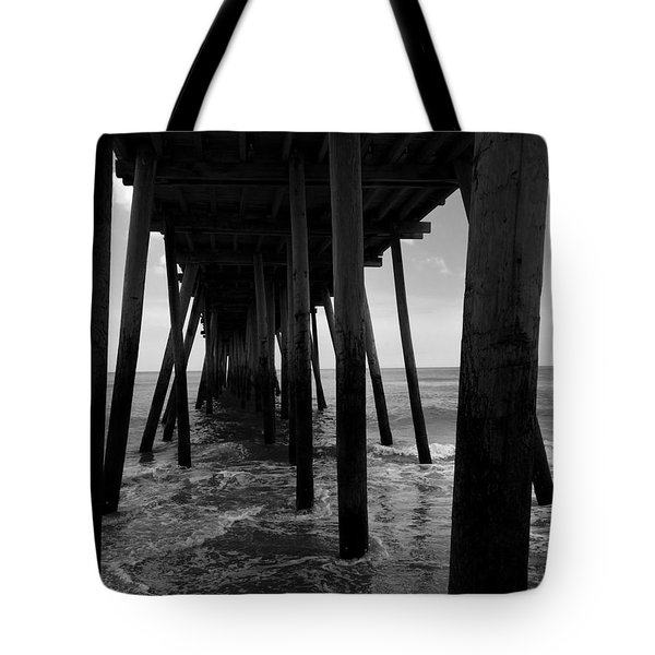 A Day At Virginia Beach #2 Tote Bag by Rebecca Davis