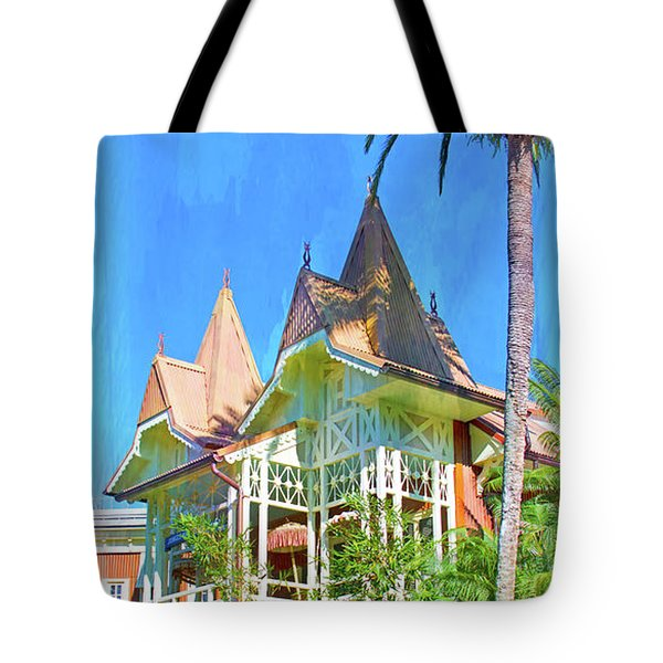 Tote Bag featuring the photograph A Day In Adventureland by Mark Andrew Thomas