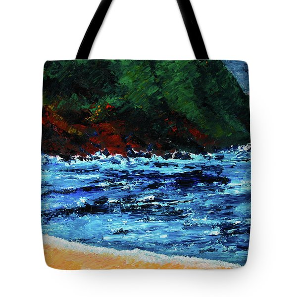 A Day At The Lake In Austin Texas Tote Bag