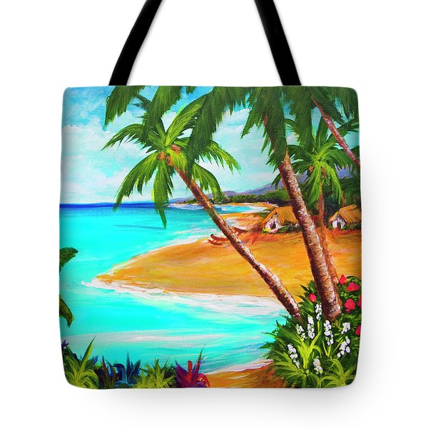 A Day In Paradise Hawaii #359 Tote Bag by Donald k Hall