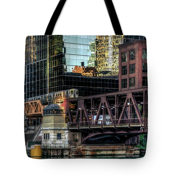 A Day In The City Tote Bag