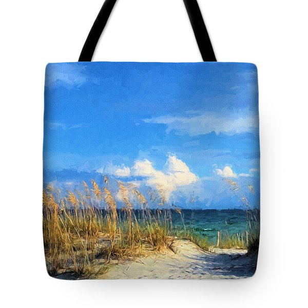 Tote Bag featuring the photograph A Day In The Life In South Walton by JC Findley