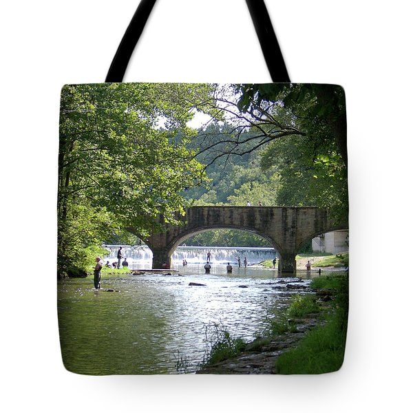 A Day In The Ozarks Tote Bag by Julie Grace