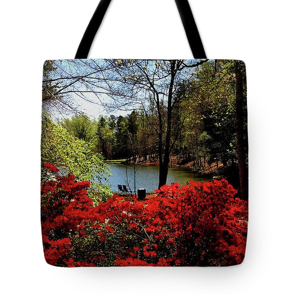 A Day In The Park Tote Bag by James C Thomas