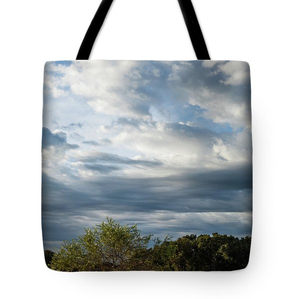 Tote Bag featuring the photograph A Day In The Prairie by Iris Greenwell