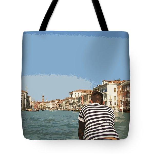A Day In Venice Tote Bag