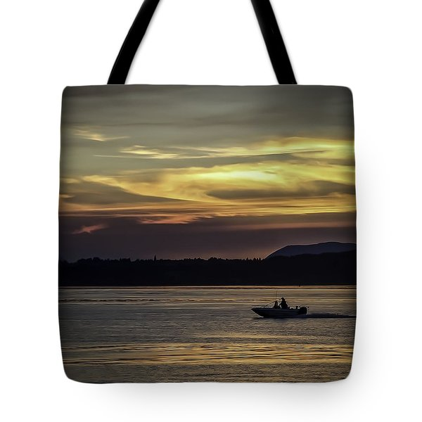 A Day Of Fishing Tote Bag