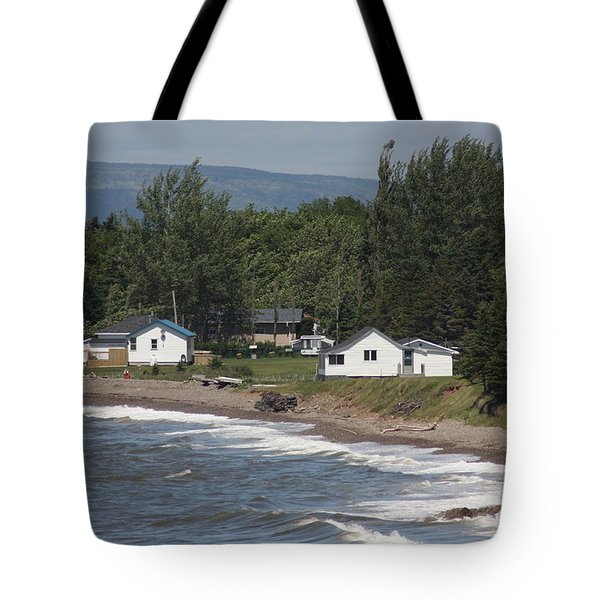 Tote Bag featuring the photograph A Day On Cape Breton by Robin Regan