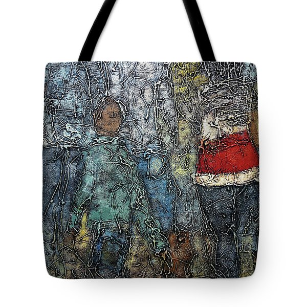 A Day Out Tote Bag by Ronex Ahimbisibwe