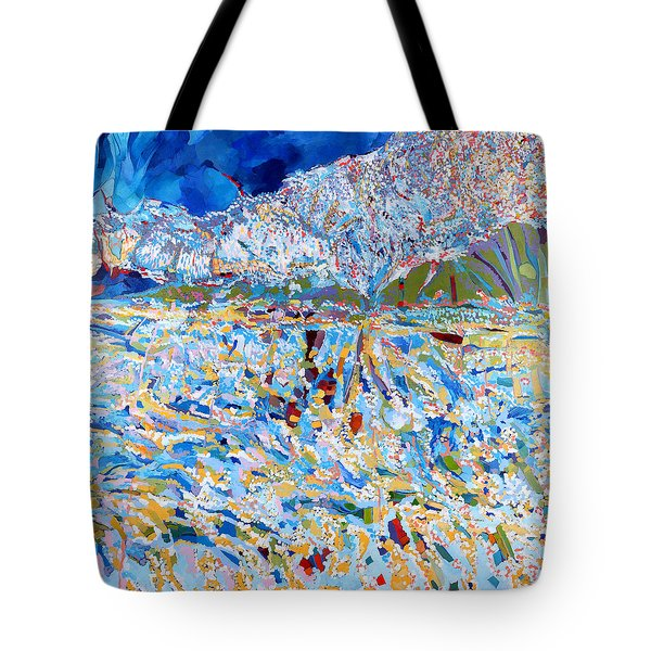 Tote Bag featuring the painting A Day To Remember by Linda Cull