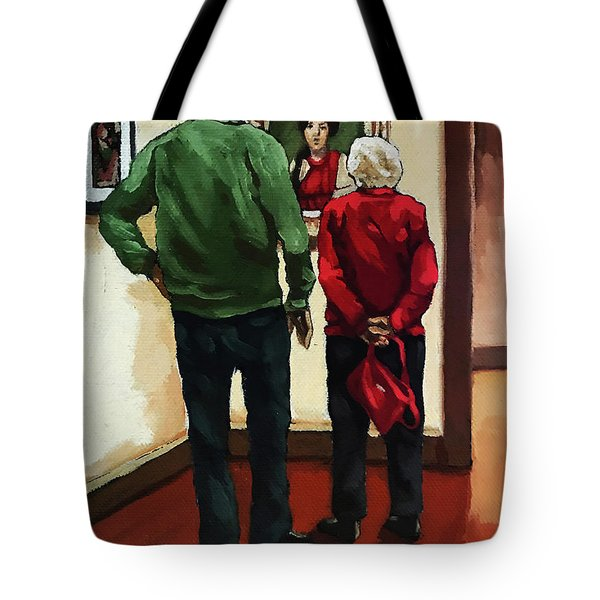 A Day With Mom Tote Bag