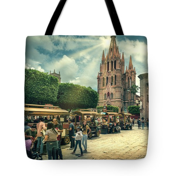 A Day With The Family Tote Bag