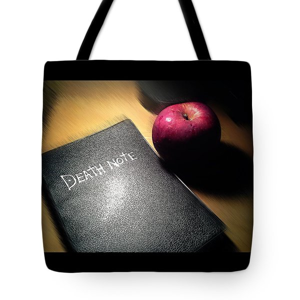 A Death Note Tote Bag