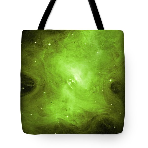 Tote Bag featuring the photograph A Death Star's Ghostly Glow by Nasa