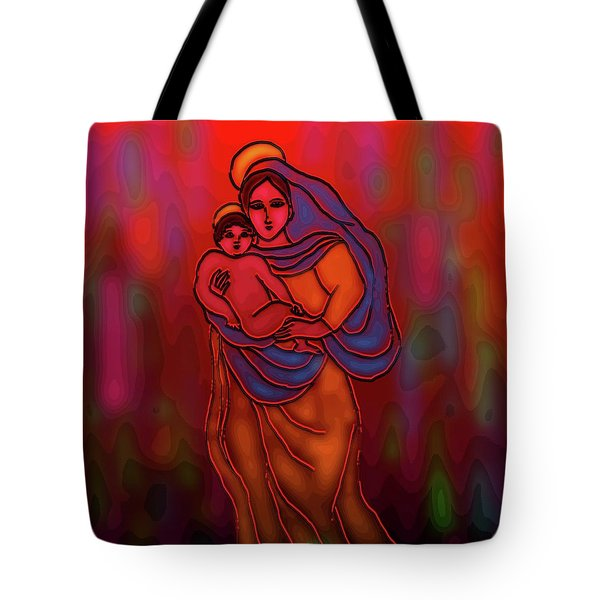 A December Dream Tote Bag by Latha Gokuldas Panicker