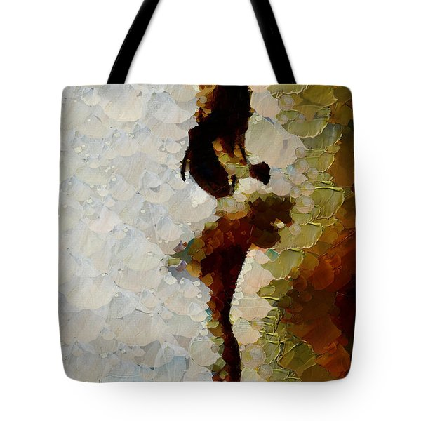 A Delicate Romance - Ballerina Tote Bag by Sir Josef - Social Critic -  Maha Art