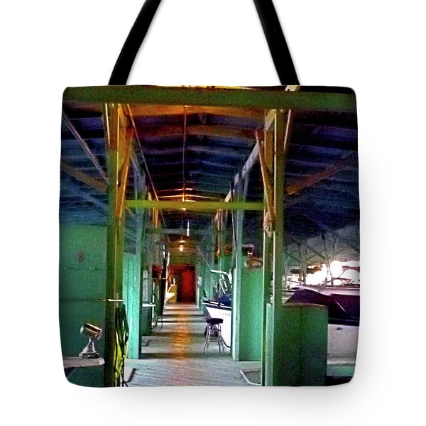 A Delta Boat Shed Tote Bag